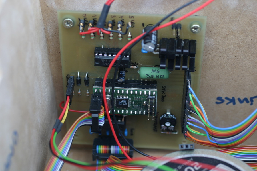 circuit diagram of our board installed board